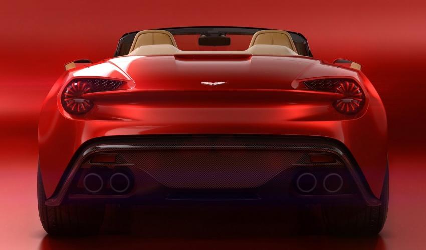 Aston Martin Vanquish Volante Zagato chỉ sản xuất 99 chiếc - 6