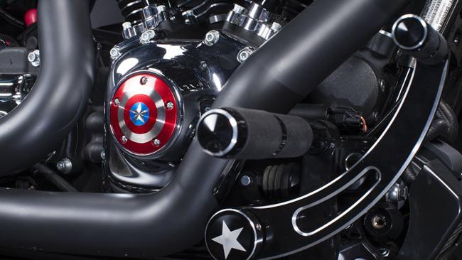 Theo Comicbook, người phát ngôn của Harley-Davidson, ông David Turney cho biết:  Chúng tôi tùy chỉnh phiên bản Captain America Street Glide Special để truyền cảm hứng cho các đại lý của Harley-Davidson khắp Úc và New Zealand để chế tạo ra những chiếc xe lấy cảm hứng từ nhân vật Marvel của riêng họ và sử dụng công nghệ H-D. Các sản phẩm đã rất phi thường. Sự kết hợp đích thực giữa công suất khủng và hơn 16 nhân vật của & nbsp;Marvel & nbsp;đã được ra mắt.