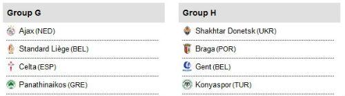 Vòng bảng Europa League: MU không may mắn - 5