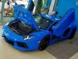 Chi tiết Lamborghini Aventador màu xanh cực độc tại Việt Nam