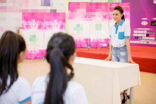 Lan Ngọc chia sẻ bí quyết vượt qua scandal với thí sinh HHVN - 1