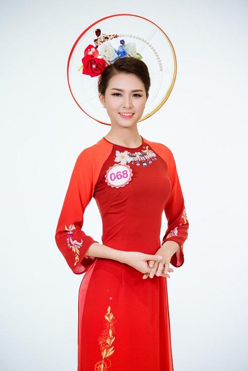Ảnh áo dài chung kết nóng hổi của top 30 Hoa hậu VN - 10