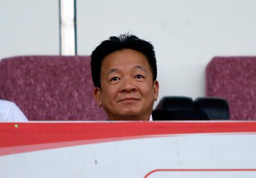 Bầu Hiển cười tươi, khen cả Hà Nội T&T lẫn Sài Gòn FC - 1
