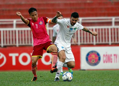 Bầu Hiển cười tươi, khen cả Hà Nội T&T lẫn Sài Gòn FC - 3