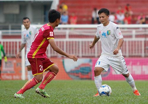 Bầu Hiển cười tươi, khen cả Hà Nội T&T lẫn Sài Gòn FC - 4