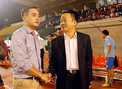 Bầu Hiển cười tươi, khen cả Hà Nội T&T lẫn Sài Gòn FC - 8