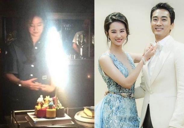 Song Seung Hun tung ảnh thân mật với Lưu Diệc Phi - 2
