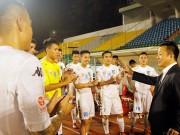 Bầu Hiển cười tươi, khen cả Hà Nội T&T lẫn Sài Gòn FC