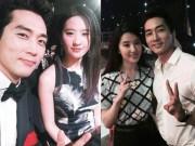 Song Seung Hun tung ảnh thân mật với Lưu Diệc Phi