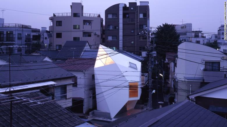Những ngôi nhà siêu nhỏ, siêu đẹp của người Nhật - 1