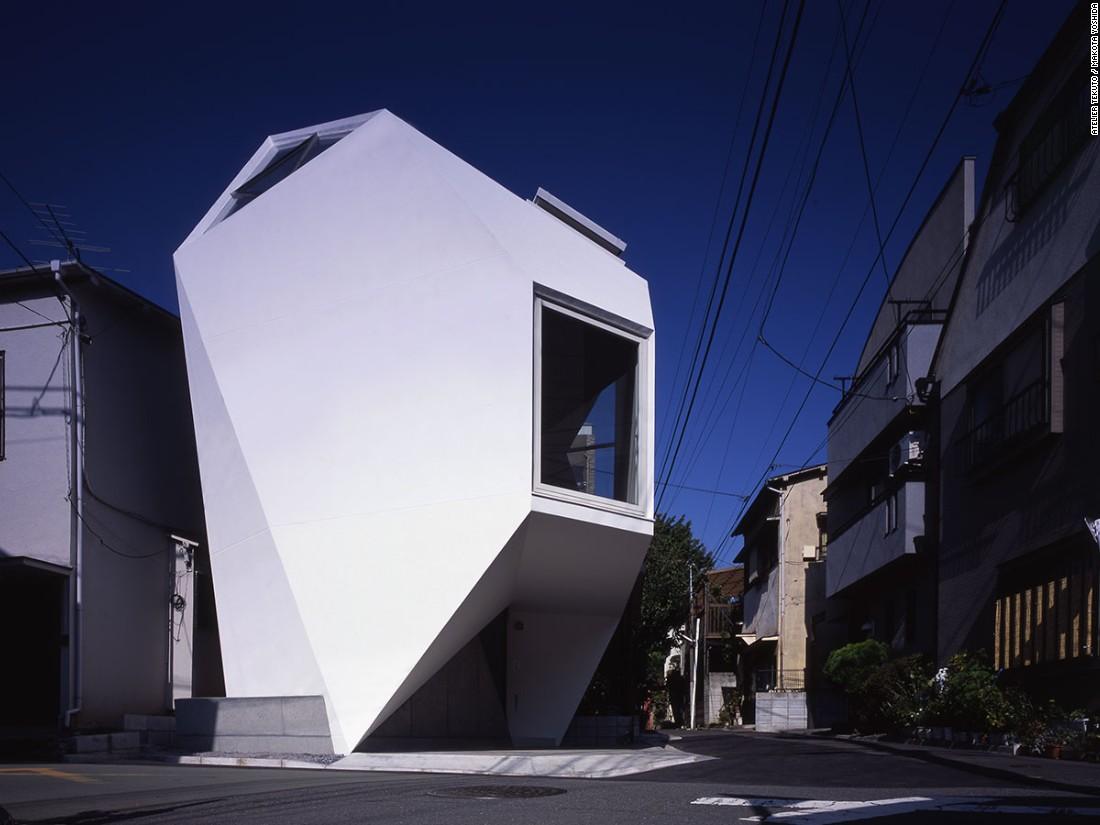 Những ngôi nhà siêu nhỏ, siêu đẹp của người Nhật - 4