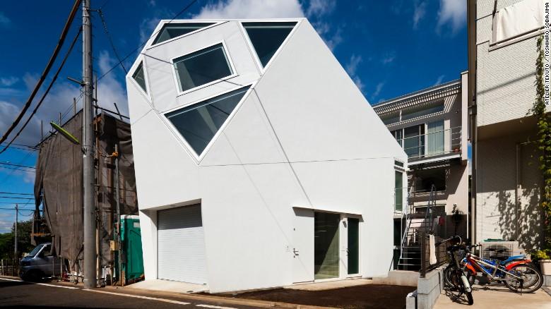 Những ngôi nhà siêu nhỏ, siêu đẹp của người Nhật - 2