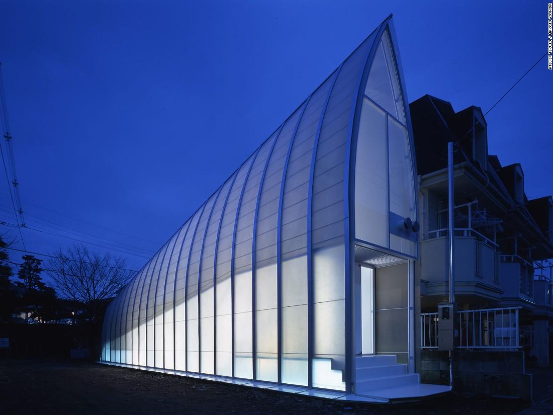 Những ngôi nhà siêu nhỏ, siêu đẹp của người Nhật - 5