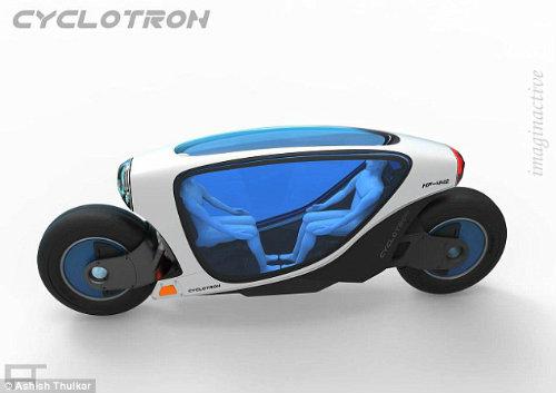 Môtô điện tự lái Cyclotron tối tân cho tương lai - 5