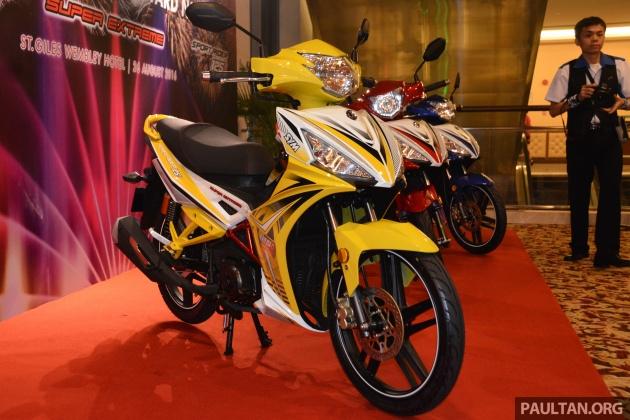 SYM Sport Rider 125i trình làng tại thị trường Malaysia - 1