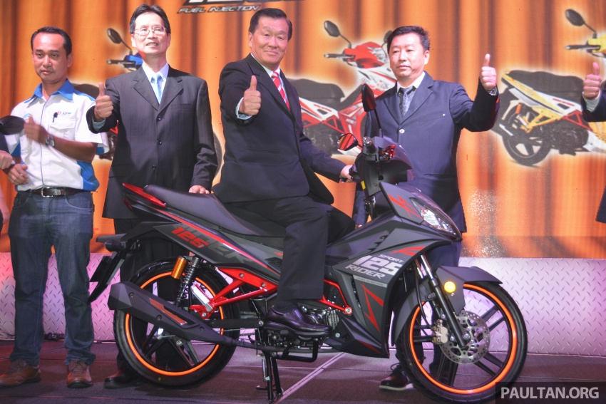 SYM Sport Rider 125i trình làng tại thị trường Malaysia - 5