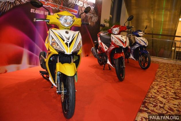 SYM Sport Rider 125i trình làng tại thị trường Malaysia - 3