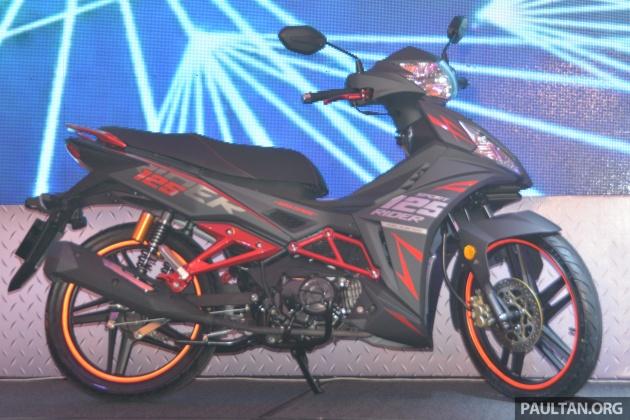 SYM Sport Rider 125i trình làng tại thị trường Malaysia - 2