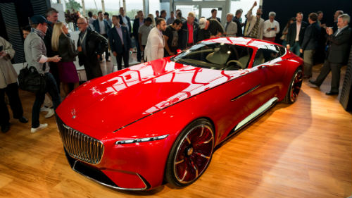 Ngắm du thuyền mặt đất Vision Mercedes-Maybach 6 coupe - 3