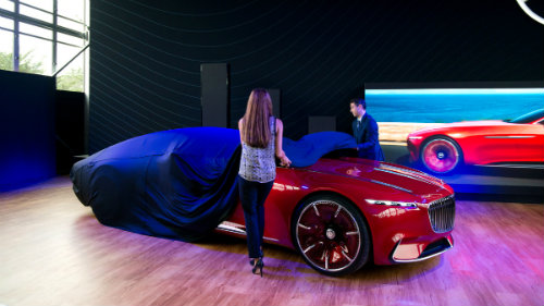 Ngắm du thuyền mặt đất Vision Mercedes-Maybach 6 coupe - 1