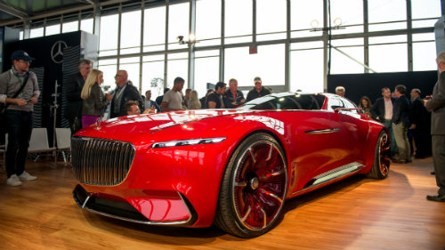 Ngắm du thuyền mặt đất Vision Mercedes-Maybach 6 coupe - 2
