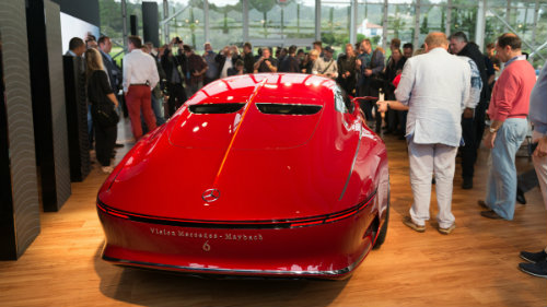 Ngắm du thuyền mặt đất Vision Mercedes-Maybach 6 coupe - 4