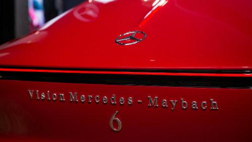 Ngắm du thuyền mặt đất Vision Mercedes-Maybach 6 coupe - 6