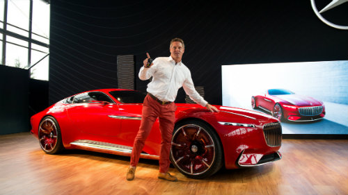 Ngắm du thuyền mặt đất Vision Mercedes-Maybach 6 coupe - 5
