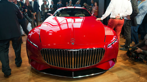 Ngắm du thuyền mặt đất Vision Mercedes-Maybach 6 coupe - 10