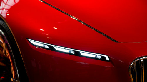 Ngắm du thuyền mặt đất Vision Mercedes-Maybach 6 coupe - 9