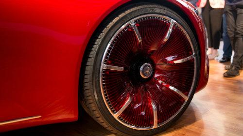 Ngắm du thuyền mặt đất Vision Mercedes-Maybach 6 coupe - 7