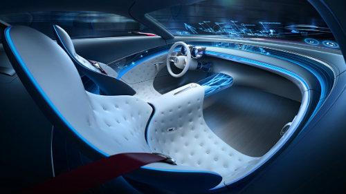 Ngắm du thuyền mặt đất Vision Mercedes-Maybach 6 coupe - 14