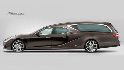 Lộ diện xe tang siêu sang Maserati Ghibli - 2