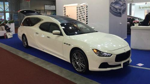 Lộ diện xe tang siêu sang Maserati Ghibli - 3