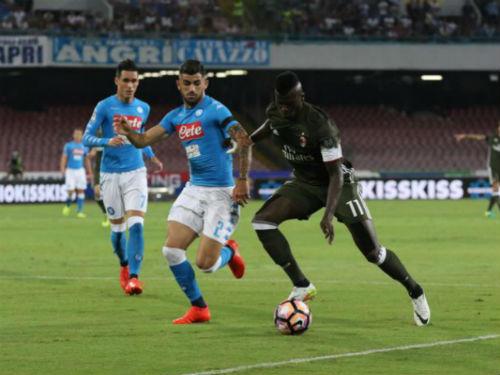 Napoli - Milan: 6 bàn thắng và 2 thẻ đỏ - 1