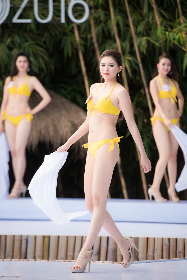 """Nét """"Tây"""" khó rời mắt của nữ du học sinh thi Hoa hậu VN - 5"""