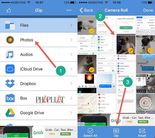 Hướng dẫn nén và giải nén file trên iPhone - 1