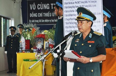 Vĩnh biệt Thiếu úy phi công Phạm Đức Trung - 1