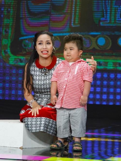"""Ốc Thanh Vân khóc vì """"thần đồng nhí 5 tuổi"""" - 3"""