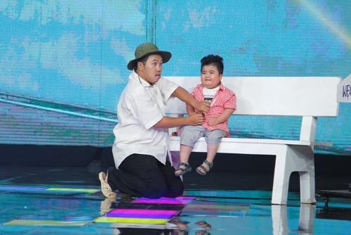 """Ốc Thanh Vân khóc vì """"thần đồng nhí 5 tuổi"""" - 2"""