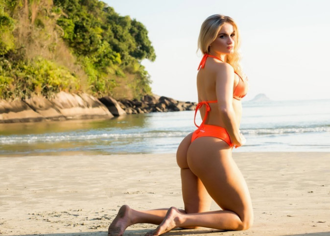 """""""Nóng"""" như dàn người đẹp Hoa hậu Siêu vòng 3 Brazil - 9"""