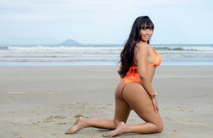 """""""Nóng"""" như dàn người đẹp Hoa hậu Siêu vòng 3 Brazil - 4"""