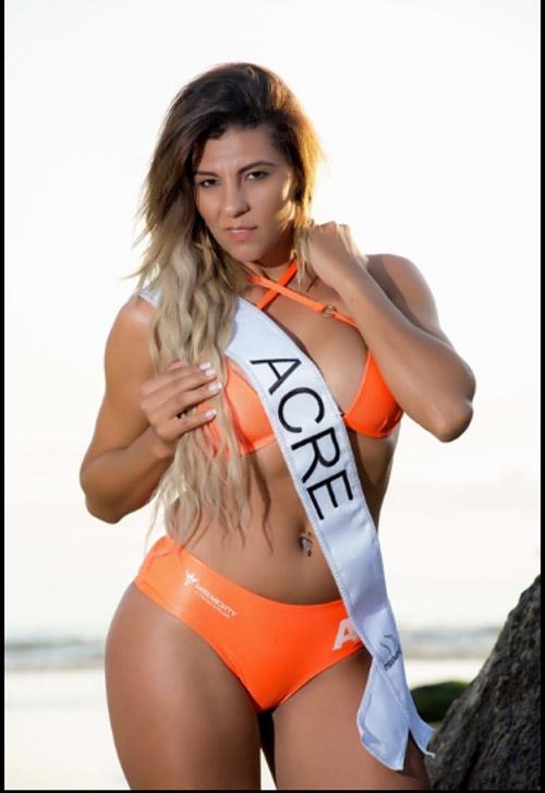 """""""Nóng"""" như dàn người đẹp Hoa hậu Siêu vòng 3 Brazil - 7"""