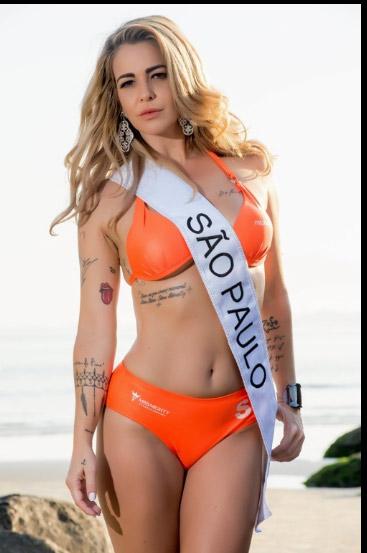 """""""Nóng"""" như dàn người đẹp Hoa hậu Siêu vòng 3 Brazil - 13"""