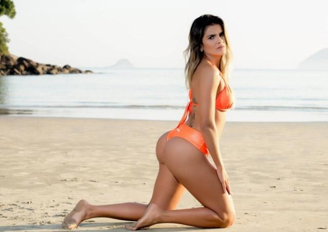 """""""Nóng"""" như dàn người đẹp Hoa hậu Siêu vòng 3 Brazil - 11"""
