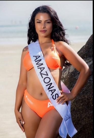 """""""Nóng"""" như dàn người đẹp Hoa hậu Siêu vòng 3 Brazil - 20"""