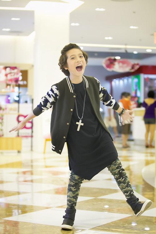 """""""Soái ca nhí"""" Idol Kids được cổ vũ khi hát hit của Sơn Tùng - 6"""