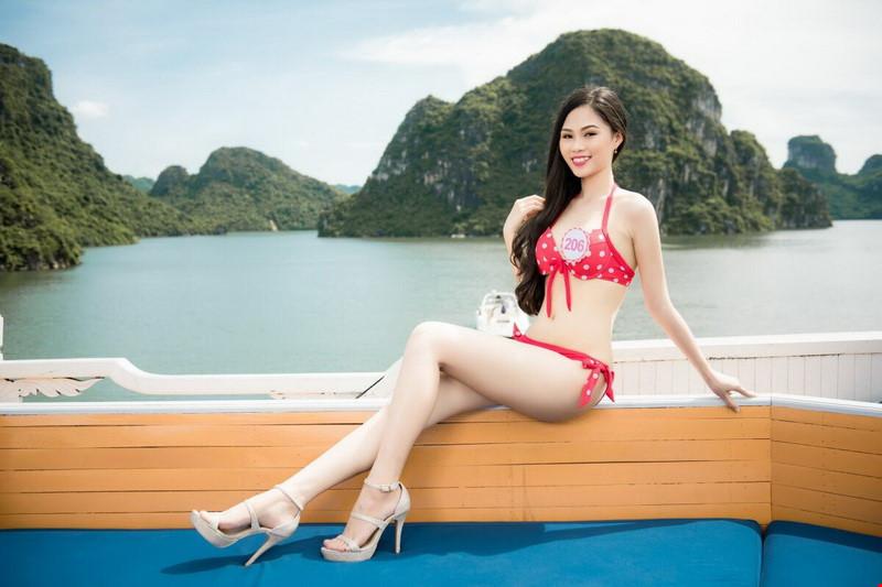 Bí mật thân hình gợi cảm của 3 mỹ nữ thi Hoa hậu VN - 5