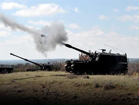 Máy bay, súng đại bác Thổ Nhĩ Kỳ nhắm bắn Syria - 1