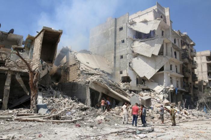 Máy bay, súng đại bác Thổ Nhĩ Kỳ nhắm bắn Syria - 2